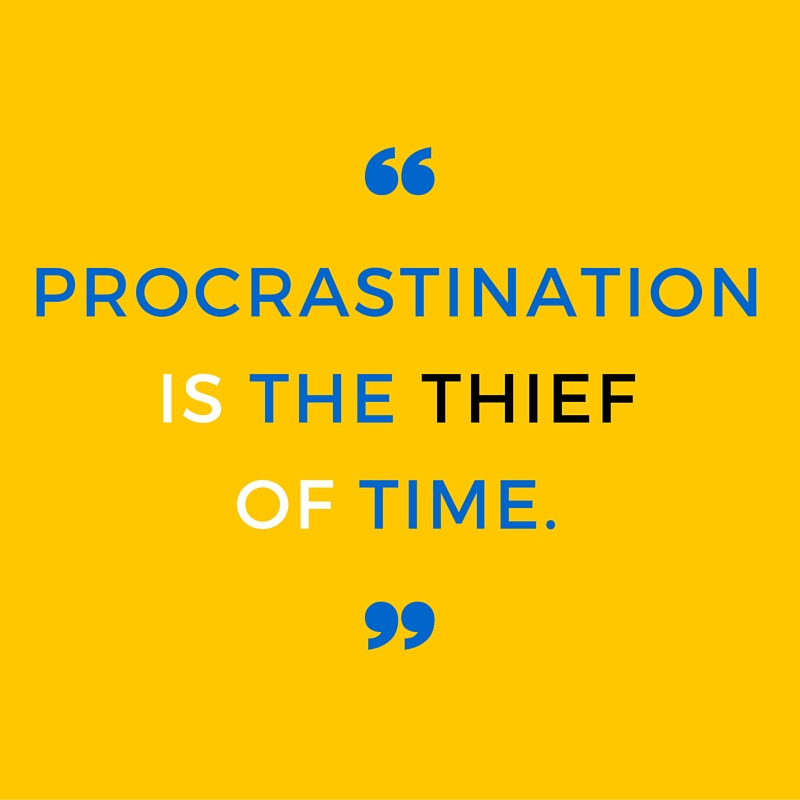 The kiss of death: How to beat procrastination