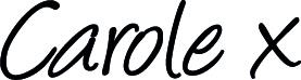 carole sign